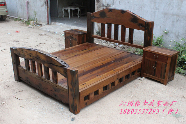 Old Ship Old custom mahogany wood catalpa wood original ecological ...