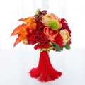 Ручной работы в Китайском стиле Высокое Качество Завод Свадебные Букеты Свадебный Букет Невесты Роскошные Букеты Искусственных цветов
