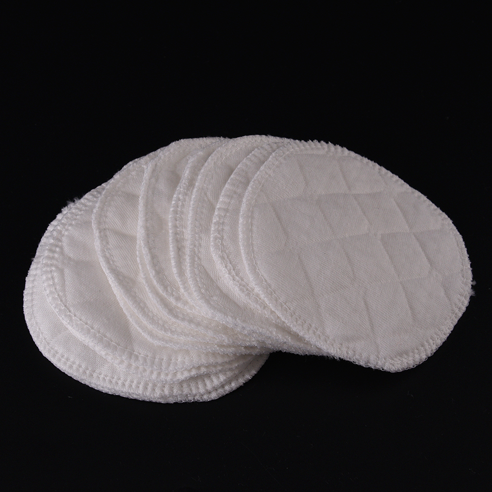 12Pcs/lot Soft Absorbent Cotton Washable Reusable Breastfeeding Breast Nursing Pads High Quality