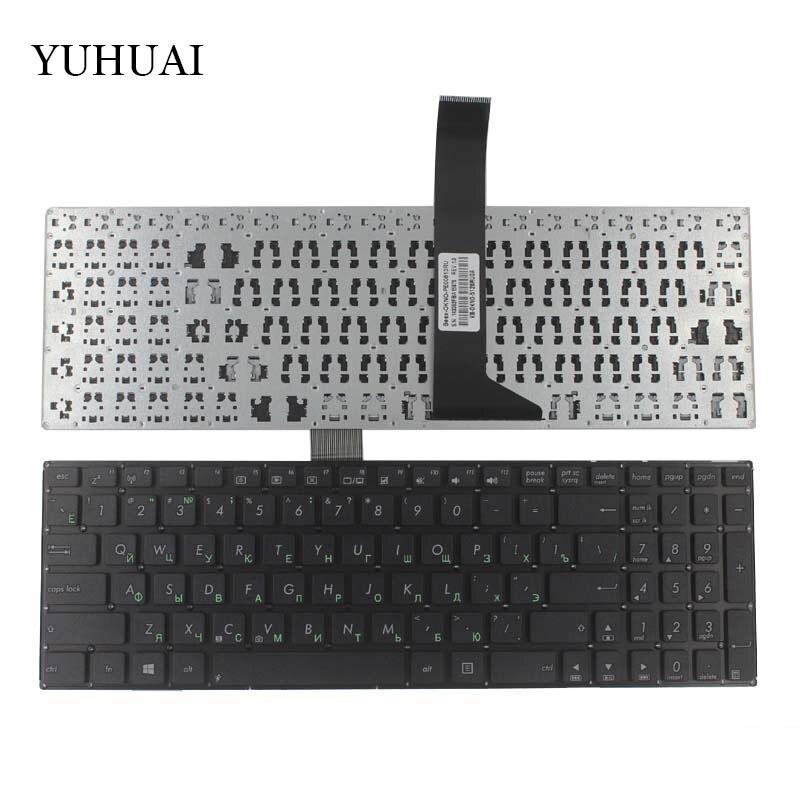 Russische Laptop Tastatur für ASUS X550C X550CA X550CC X550CL X550VC X550ZE X501 X501A X501U X501EI X501XE X501XI X550J RU Schwarz