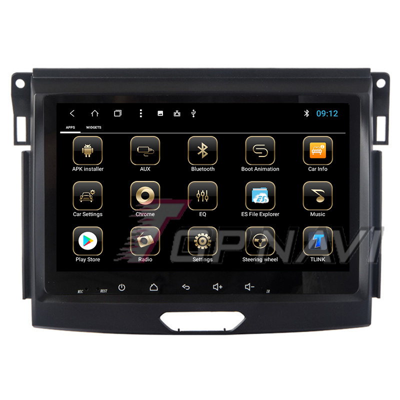 1din android car radio For Ford Everest 2015