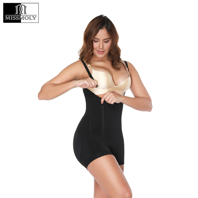 fa3144646224d Women s Seamless Body Shaper Firm Tummy Control Powernet Shapewear Bodysuit  Shaper Slimming Underbust Black Full Body Shapers