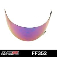 Original LS2 FF352 Full Face Helmet Visor Glass Replacement Shield For LS2 Ff352 Multicolor Lens Clear