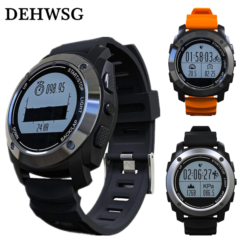Smartch S928 Gps Outdoor Sports Smart Watch Men Wristband Waterproof Heart Rate Monitor Altitude Meter For Android Ios Vs Gt08 D Wearable Devices