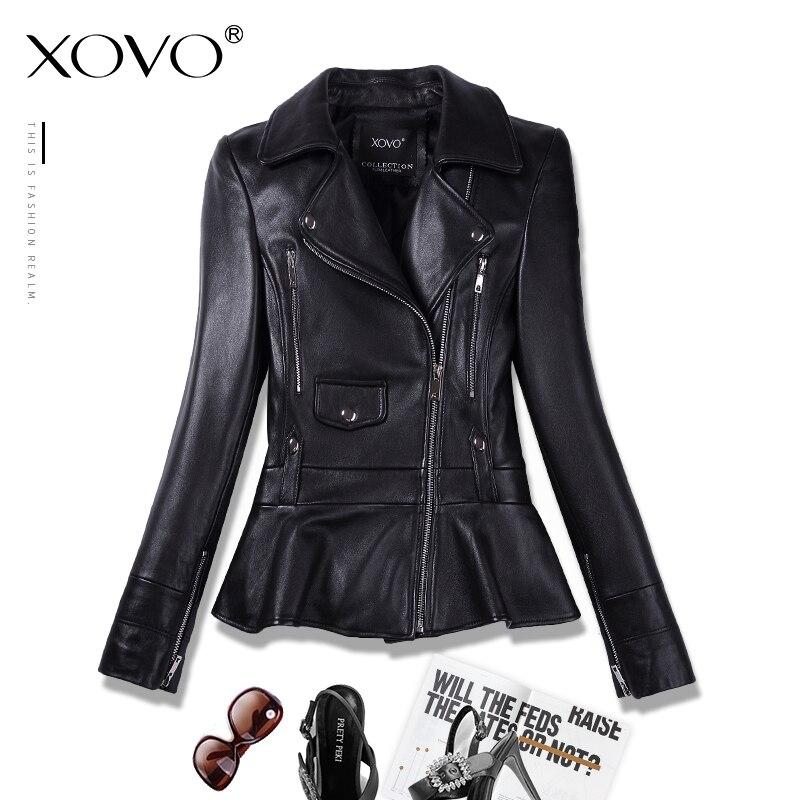 Дубленка мотоциклетная кожаная одежда женская короткая куртка с заклепками кожаная одежда рассада тонкая весна и осень новая