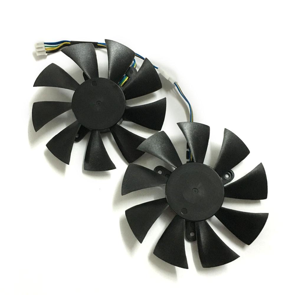 2 pcs/ensemble GFY09010E12SPA GTX 1070/1060 GPU Refroidisseur ventilateur de la carte vidéo Pour zotac GTX1060 GTX1070 MINI Carte Graphique de refroidissement