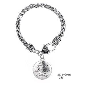 Image 3 - Fishhook Dropshipping  Ezili Freda Voodoo Loa Veve Pendant Vodoun Lwa Love Talisman Jewelry Hoodoo Amulet Fashion Bracelet