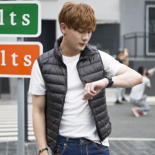 ZOGAA winter vest plus size Casual fashion jacket men korean style Solid Zipper Cotton sleeveless