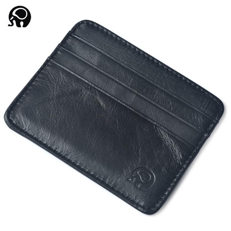 menn lommebok visittkort holder bank kortholder lær ku pickup pakke - Lommebøker - Bilde 5