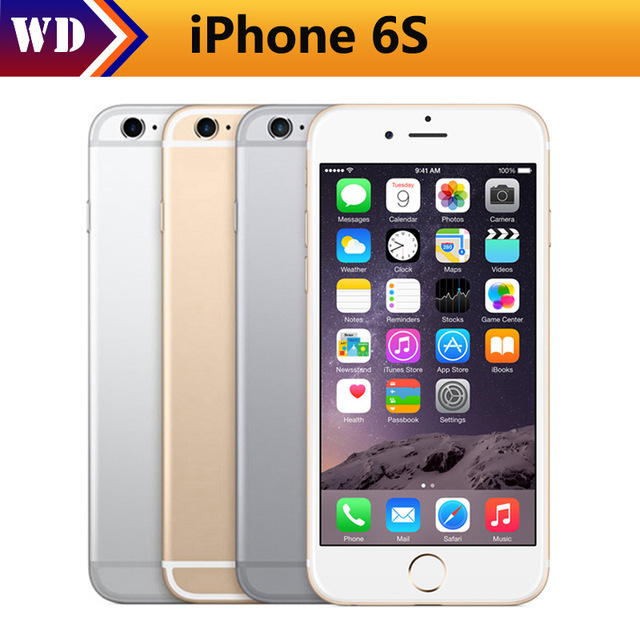 "Original Apple iPhone 6 iPhone 6 s iOS Dual Core 2 GB RAM 16 GB 64 GB 128GB ROM 4,7 ""12.0MP Cámara teléfono Móvil 4G LTE"
