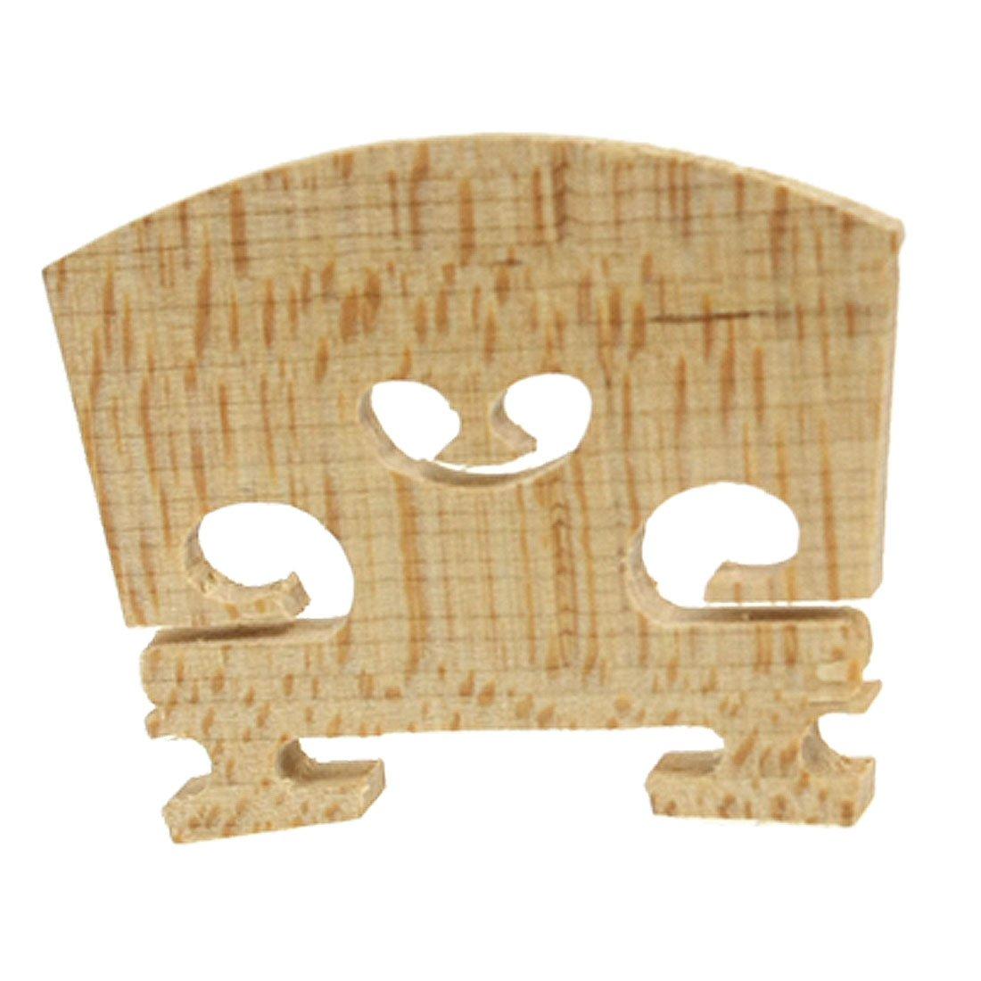 8 Pack Replacement 1/4 Size Violin Parts String Centre Wooden Bridge