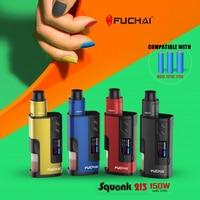 Original Electronic Hookah Sigelei Fuchai squonk 213 box mod kit 150 power with 5ml tank Atomizer by 21700/20700/18650 Vape