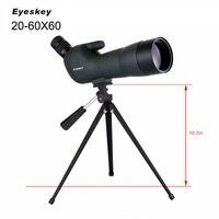 Eyeskey 20 60x60 водонепроницаемый Зрительная труба Оптическая Труба с зумом полное многослойное наблюдение за птицами монокулярный телескоп с т