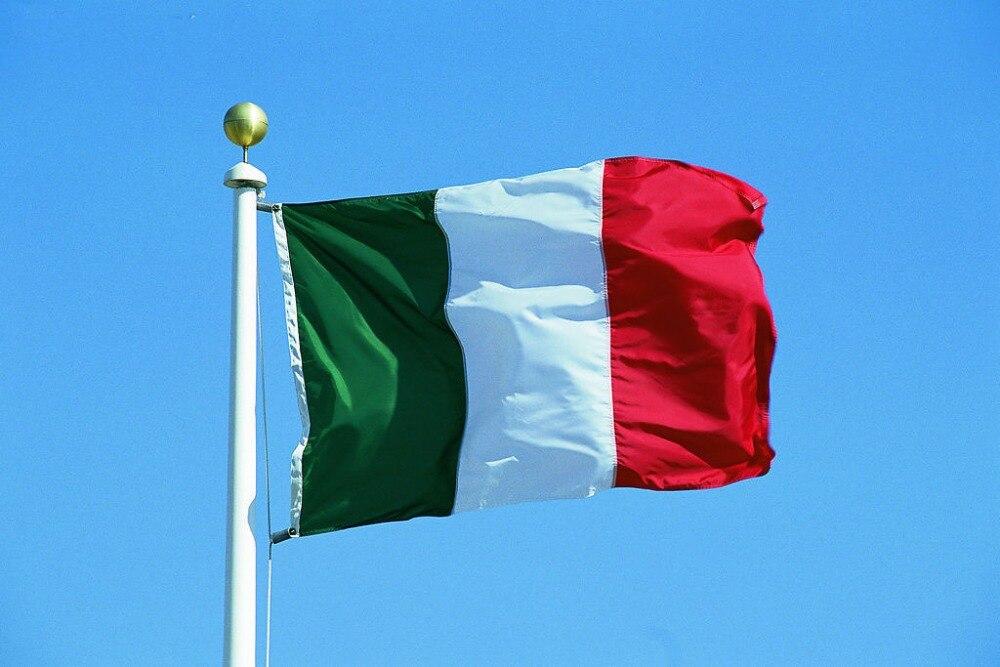 3ft x 5ft Italy Polyester Flags <font><b>Home</b></font> <font><b>Decoration</b></font> flag banner <font><b>Italian</b></font> Flag Flying Flag No Flagpole 90*150cm