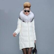 Europe Fashion Winter Women Jackets and Coats Luxury Raccoon Fur Womens Parka femme abrigos y chaquetas mujer invierno 2015