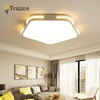 Modern Led Ceiling Lights For Living Room Bedroom Black Ceiling Lamp surface mounted lampara lustre avize Lighting Fixtures