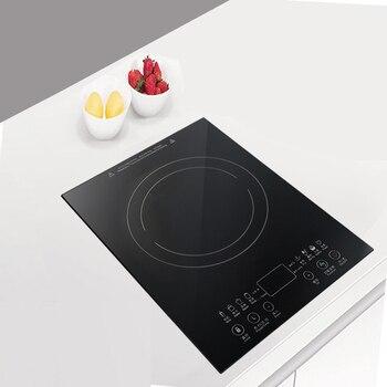 Desktop Bulit-in Electric Ceramic Hob Burner Electromagnetic Induction Cooker Embedded Hotpot Heating Stove Cooktop Oven EU