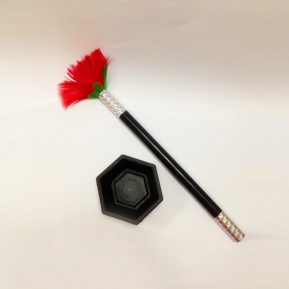 Interesting Perfect Gift For Children Kid Magic Wand To Flower Magic Trick Prop