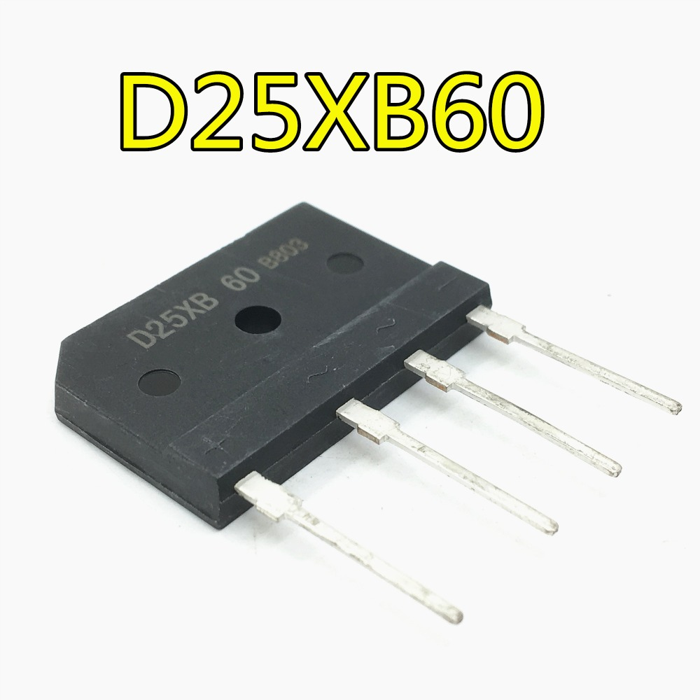 5pcs//lot D25XB60 D25SB60 D25XB80 D25SB80 25A 600V//800V Power Bridge Rectifier