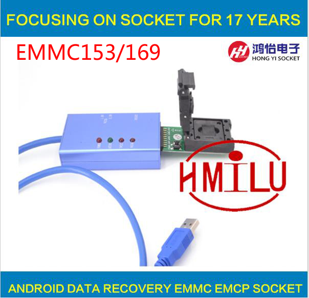 все цены на  EMMC153 169 socket for your Choice data recovery tools for android phone  онлайн