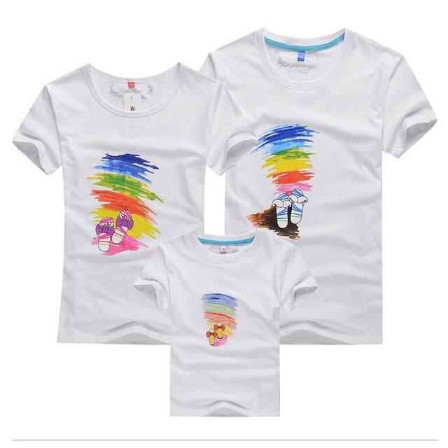 Familia camisetas a juego madre e hija padre hijo ropa