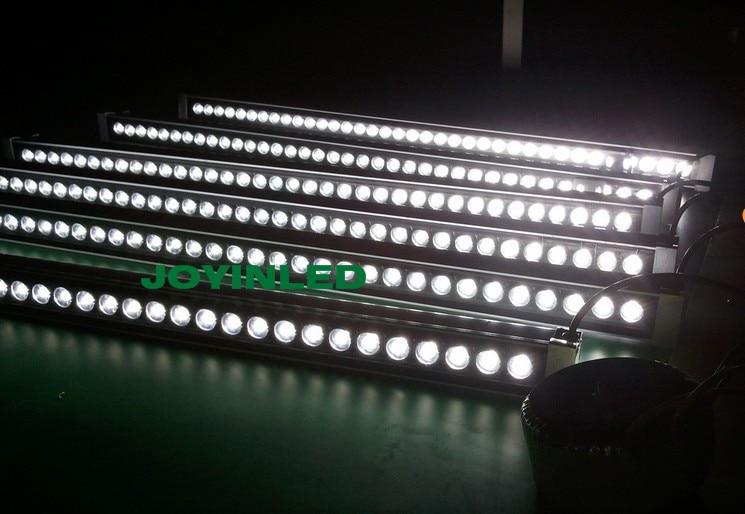 10 шт. AC85-265V 24 Вт Шайба стены свет водонепроницаемый IP65 напольный лайнер бар лампы Пейзаж свет ...