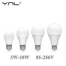 Led Light Bulb E27 110V 220V 85-265V Real Watt Lampada Led Lamp 3W 5W 7W 9W 12W 15W 18W Top Quality Bombillas Spotlight Light