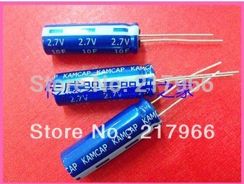 100PCS X New and original <font><b>Super</b></font> <font><b>Capacitor</b></font> <font><b>2.7V</b></font> <font><b>100F</b></font> Farad <font><b>Capacitor</b></font> ,Supercapacitor image