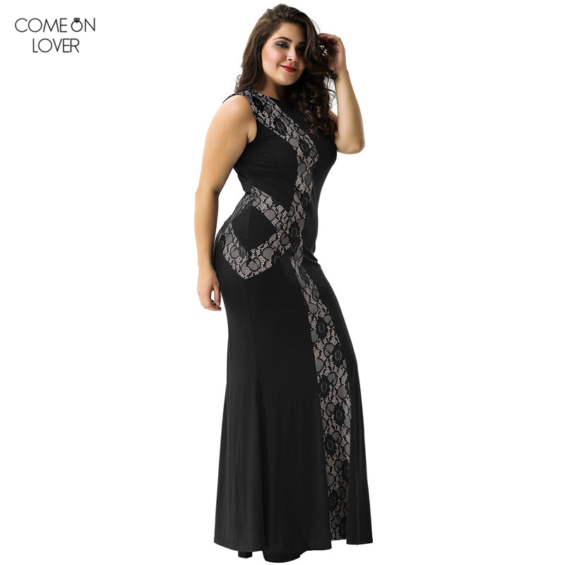 Comeonlover Pin Up Vetements Plus Sizes Sundresses Women Gown ...