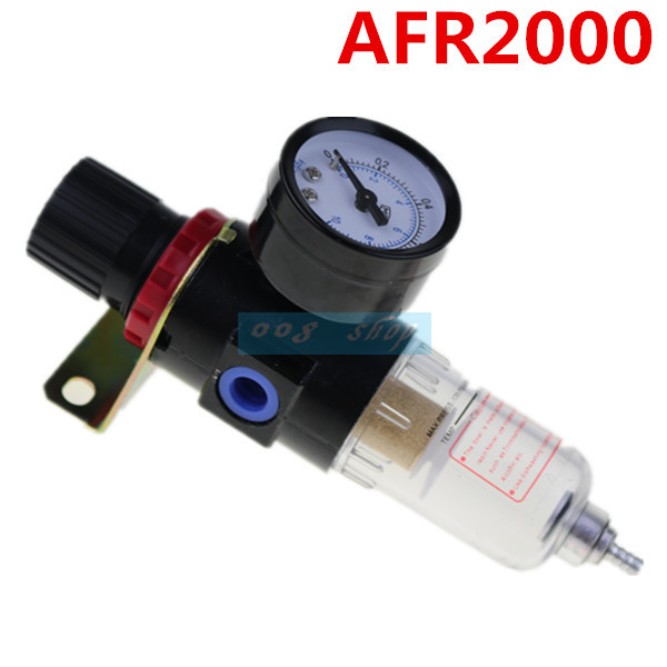AFR-2000 Pressure Switches Pneumatic Filter Regulator Air Treatment Unit Pressure Gauge AFR2000 afr2000 air processor free shipping pneumatic air source treatment filter regulator w pressure gauge