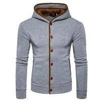 Men S Fashion Hoodies Brand Clothing Cardigan Hoodies Sweatshirts Men S Buttons Moletom Masculino Hoodies Slim