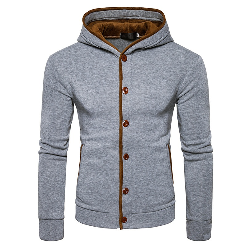 Men S Fashion Hoodies Brand Clothing Cardigan Hoodies Sweatshirts Men S Buttons Moletom Masculino Hoodies Slim