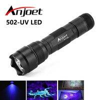 High Quality New 800 Lumen WF 502B CREE UV LED Flashlight Torch 502B Purple Light 395nm