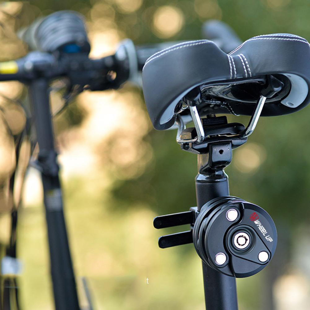 Хоббилайн Противоугонный цепной трос велосипедный замок складной мотоцикл электрический велосипед Высокая безопасность дрель устойчивый замок цилиндрический замок
