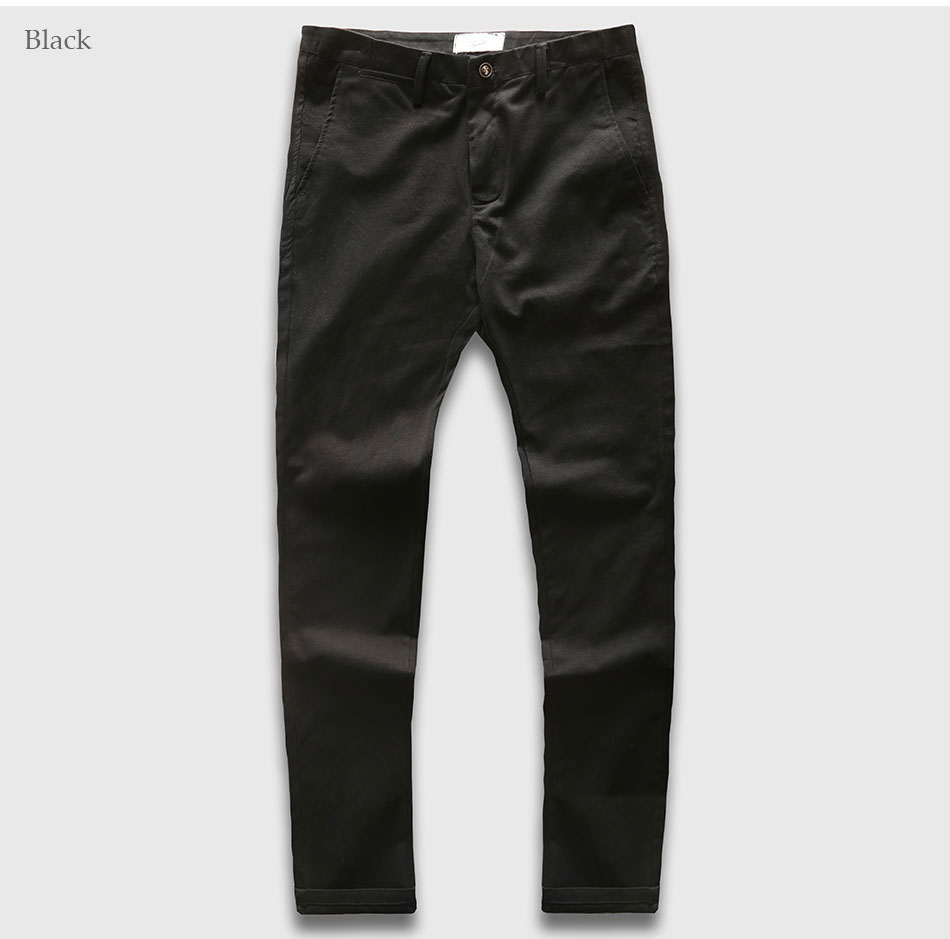 Zecmos Slim Straight Men Casual Pants Man Autumn Winter New Fashion Plus Size Pocket Trousers 8
