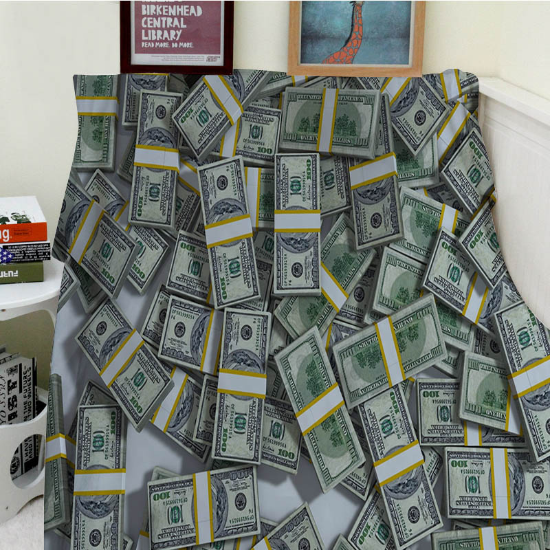 Super Soft Blankets Plush Machine Wash Billions Of Dollars A Lot Of Money Sofa Bed Throw
