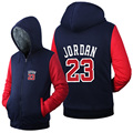 Jordan 23 Set Tracksuit Hoodies Pants Hip Hop Men Tops Bottoms Thicken Zipper Fleece Swearshirts Plus Size