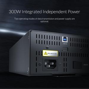 Image 4 - ORICO промышленный концентратор USB 2,0, 30 портов, устройство для чтения карт SD TF U disk, Пакетная копия данных черный