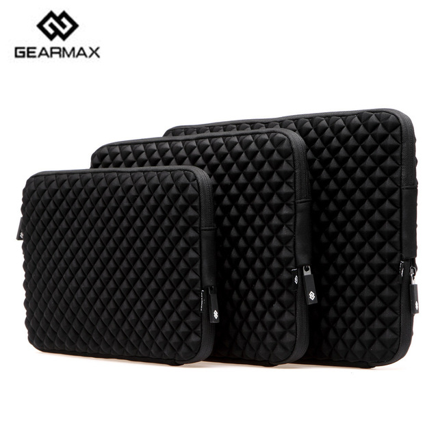 Gearmax laptop bag 11.6 12 13.3 14.1 15.4 дюймов водонепроницаемый ноутбук 14 неопрена laptop sleeve для macbook air pro 13 случае