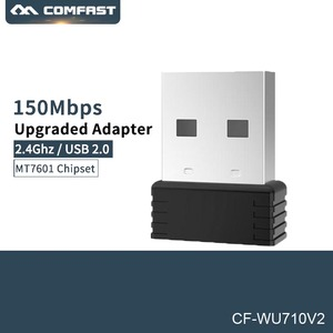 Mini 150Mbps 2.4G USB Wifi Adapter Wifi dongle Wi-fi Receiver USB Ethernet Network Card for PC Laptop Comfast CF-WU710V2