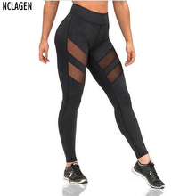 fashion women leggings bodycon black pant hollow elastic slim fit perspective trouser sexy tracksuit bottoms