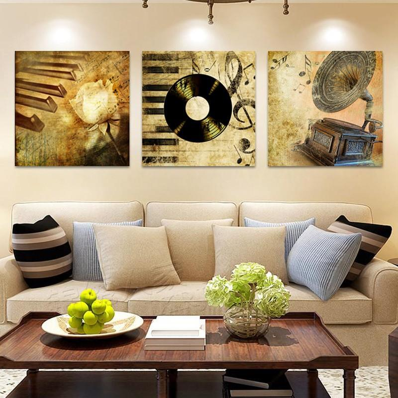 Musical Master Canvas Wall Art 3 Piece Modern Canvas Oil Painting Print On Canvas Home Decor Stretched and Frame Drop shippingMusical Master Canvas Wall Art 3 Piece Modern Canvas Oil Painting Print On Canvas Home Decor Stretched and Frame Drop shipping