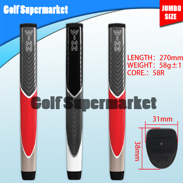 WINN jumbo size putter grip Super light Superior quality  factory outlet FREE SHIPPING