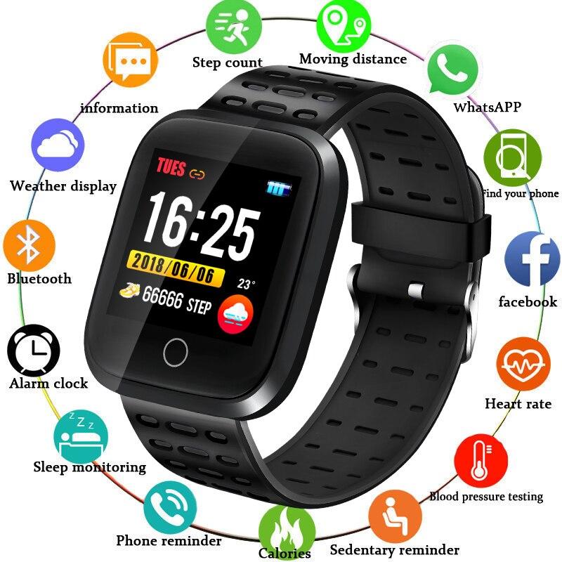 DORZE montre intelligente Bracelet fréquence cardiaque surveillance de la pression artérielle Fitness Tracker Bracelet Sport montre podomètre montre intelligente