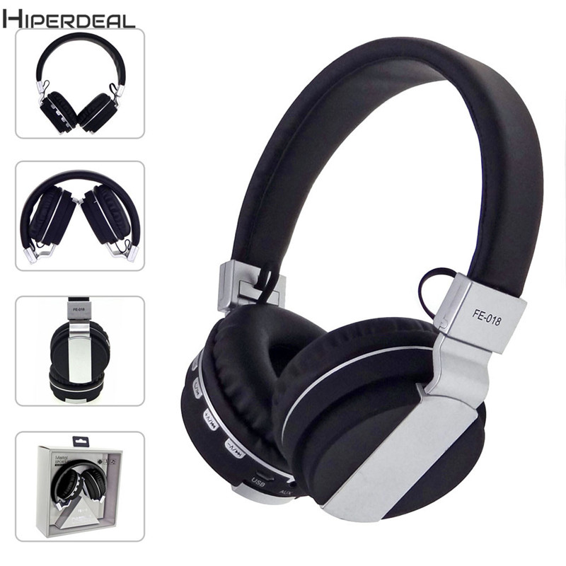 Wireless Big Headphones High Quality Bluetooth For Cell Phones With Volume Control Stereo Audio Earphones PC Auriculares DE112b 20pcs lot pga2310pa pga2310p stereo audio volume control new original