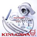 """Kinugawa Rolamento De Esferas GT3582R Turbocompressor Boleto AR1.05 T3 3 """"V-Band para TOYOTA 1JZ-GTE 2JZ-GTE"""