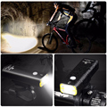 Велосипедный фонарь  стандарт/обновленная версия  4 режима  водонепроницаемый  перезаряжаемый через USB  Передний фонарь для ночной езды  400 л...