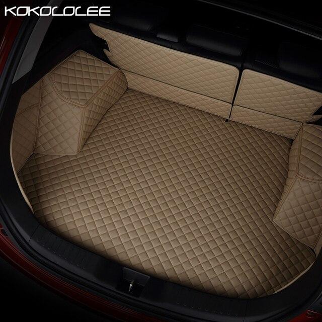 [KOKOLOLEE] custom car Trunk mats for Mercedes Benz G350 G500 G55 G63 AMG W164 W166 M ML GLE X164 X166 GL GLS 320 350 400 420