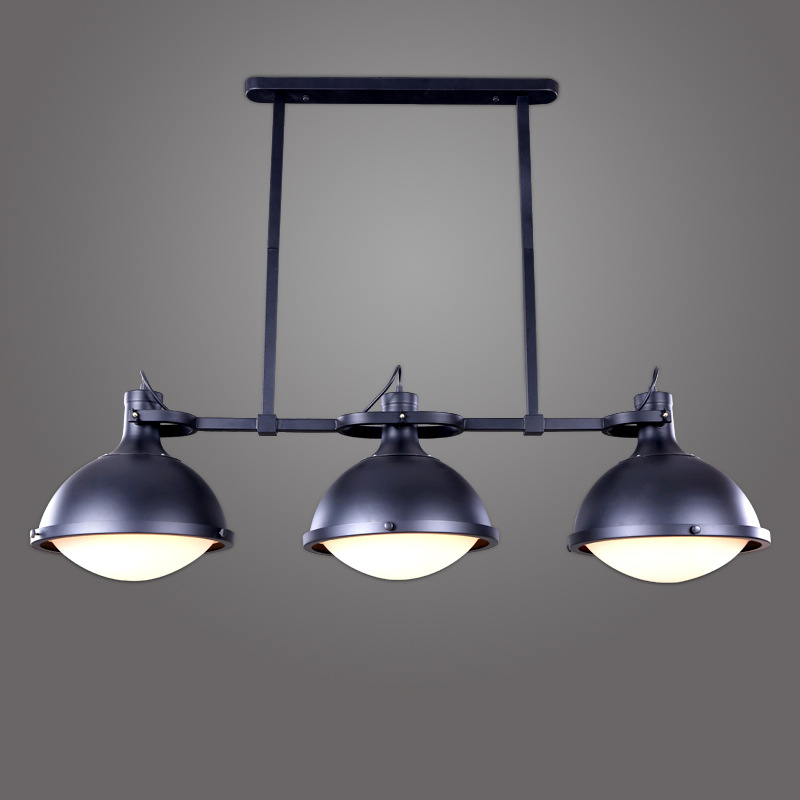 1/3 Heads Ancient Industrial Style American Country Vintage Loft Pulley Pendant Lights Modern Pendant Lamp Dinning Room WPL169 vintage loft industrial american country black spider lamp hemp rope pendant lights for coffee shop dinning room
