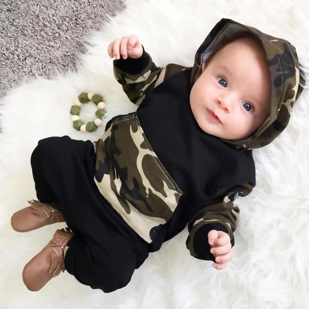2018 Baby Boy Girl Clothing sets Hoodies Sweatshirt ...
